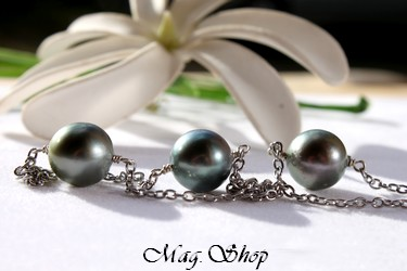 3 Perles de Tahiti Collier Vamiti Modèle 3 MAG.SHOP