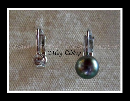 Boucles d'oreilles clip en argent