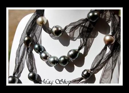 Auroa Collier  Perles de Tahiti MAG.SHOP