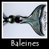 Collection Baleines Bijoux de Tahiti Masculins MAG.SHOP TAHITI