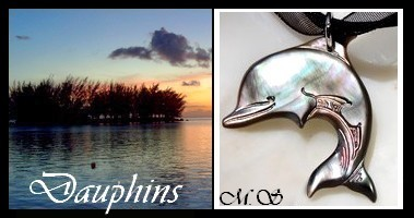 Bijoux Dauphins de TAHITI Collection Vahinés MAG.SHOP