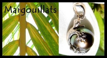 Bijoux Margouillats de TAHITI Collection Vahinés MAG.SHOP