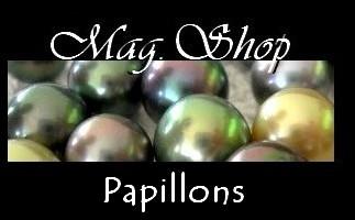 Bijoux Papillons de TAHITI Collection Vahinés MAG.SHOP