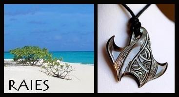 Bijoux Raies de TAHITI Collection Masculin MAG.SHOP