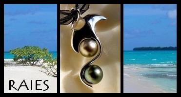 Bijoux Raies de TAHITI Collection Vahinés MAG.SHOP TAHITI