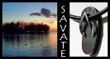 Bijoux Savates de TAHITI Collection Masculin MAG.SHOP TAHITI