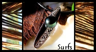 Bijoux  Surfs de TAHITI Collection Masculin MAG.SHOP