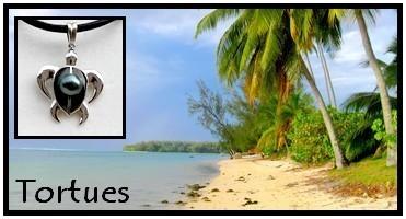 Collection Bijoux TORTUES de TAHITI MAG.SHOP