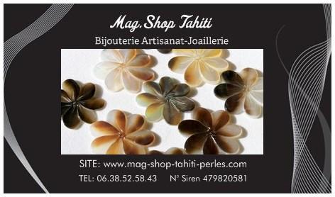 Carte Fleurs de Tiaré MAG.SHOP
