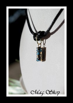 Chance Collier Tiki Marquisien Turquoise - OR 750 MAG.SHOP