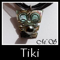 Collection Bijoux de Tahiti Tiki Vahinés MAG.SHOP