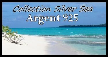 Collection Silver Sea  Bijoux Perles de Tahiti Argent Rhodié 925 MAG.SHOP