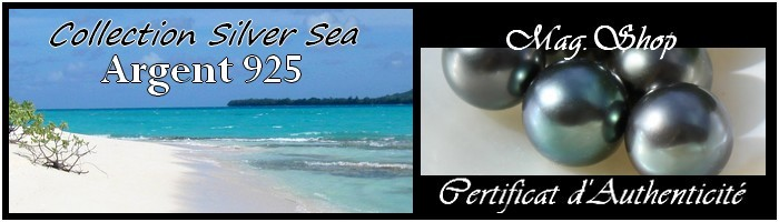Collection Siver Sea Gamme Bijoux Argent 925 MAG.SHOP TAHITI