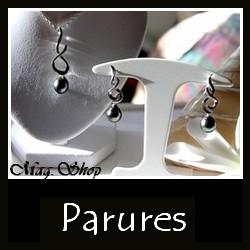 Collections Parures Bijoux PERLES Keishis Nacres de Tahiti MAG.SHOP