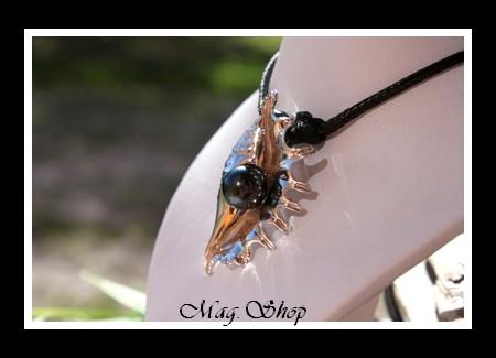 Coquillage 7 Doigts Collier Perle de Tahiti MAG.SHOP
