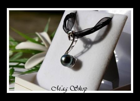 Cygne Collier Perle de Tahiti modèle 2 MAG.SHOP