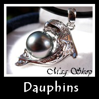 Dauphins Collection Masculins Bijoux Nacre de Tahiti Perles de Tahiti MAG.SHOP