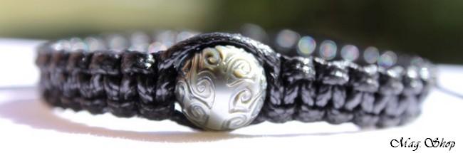 Etera Bracelet Perle de Tahiti Gravée Arbres de Vie Modèle 2 MAG.SHOP