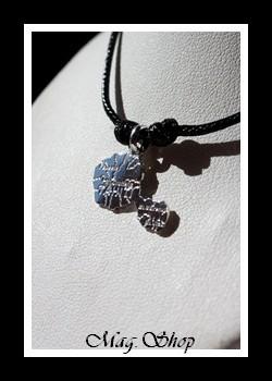 Fenua Collier Carte de Tahiti Argent Rhodié 925 MAG.SHOP