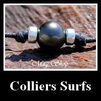 GAMME COLLIERS ET BRACELETS SURFEURS PERLES DE TAHITI MAG.SHOP