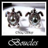 Gamme Boucles Vahinés Bijoux de Tahiti MAG.SHOP TAHITI