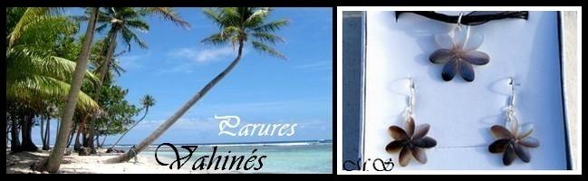 Gamme Vahinés Parures de Tahiti MAG.SHOP