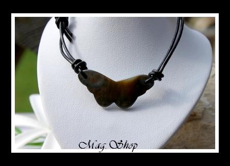 Hatuona Collier Papillon Nacre de Tahiti Modèle 1 MAG.SHOP