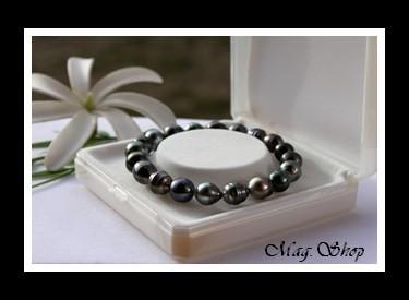 Hihimahana Bracelet Perles de Tahiti Modèle 2 MAG.SHOP