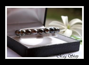 Hihimana Bracelet  Perles de Tahiti Modèle 1 MAG.SHOP
