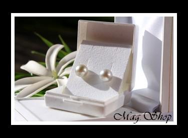 Hinaiti Boucles D`Oreilles Perles de Tahiti Modèle 8 MAG.SHOP