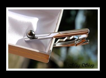 Hoani Pince à Cravate Perle de Tahiti Modèle 2 MAG.SHOP