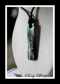 Maihere Collier Nacre de Tahiti Modèle 1 MAG.SHOP TAHITI