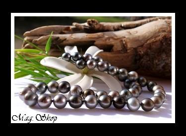 Papeete Collier Perles de Tahiti Modèle 9 MAG.SHOP
