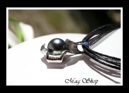 Papeto`ai Huître Collier Perle de Tahiti Modèle 4 MAG.SHOP