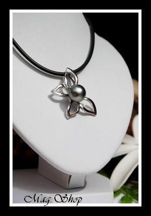 Papillon Tiputa Collier Perle de Tahiti Modèle 3 MAG.SHOP