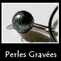 Perles Gravées Collection Vahinés Bijoux Perles de Tahiti MAG.SHOP