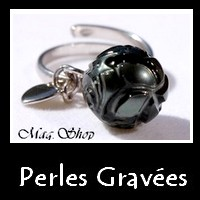 Perles Gravées Collection Vahnés Bijoux Perles de Tahiti MAG.SHOP TAHITI