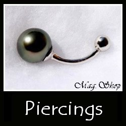 Piercings Collection Bijoux Perles de Tahiti MAG.SHOP