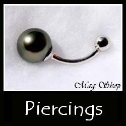 Piercings Collection Bijoux Perles de Tahiti MAG.SHOP
