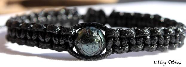 Poekiva Bracelet Perle de Tahiti Gravée Tortue Modèle 5 MAG.SHOP