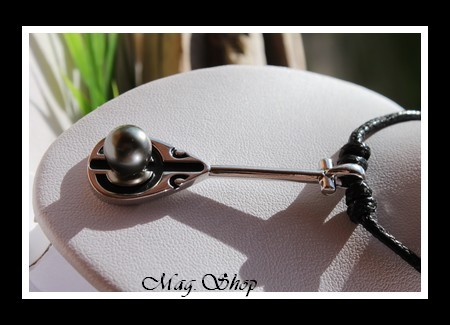 Rame de Vaa` Tokorua Collier Perle de Tahiti MAG.SHOP