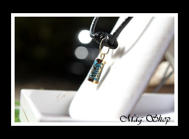 Sagesse Collier Tiki Marquisien Turquoise - OR 750 MAG.SHOP