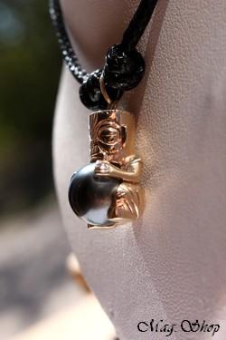 Tahauri Collier TIKI OR 9K Perle de Tahiti Modèle 1 MAG.SHOP